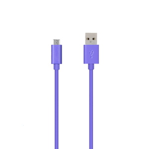 USB to Micro USB - Purple - Tangled