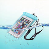 iPhone Plus Waterproof Pouch - Blue