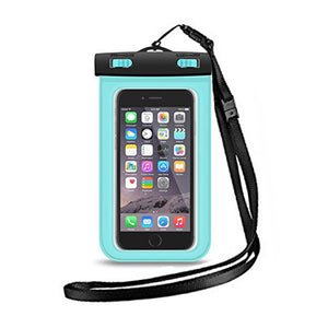 iPhone Waterproof Pouch - Blue