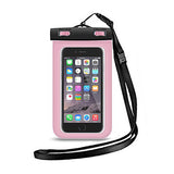 iPhone Plus Waterproof Pouch - Pink