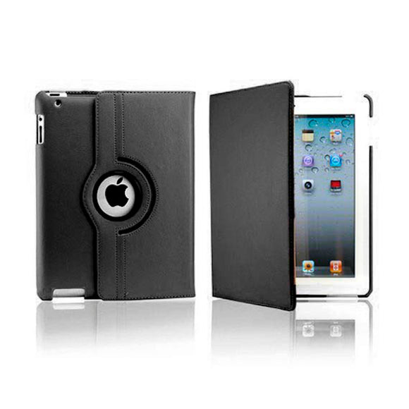 iPad 8 Rotatable Case - Black