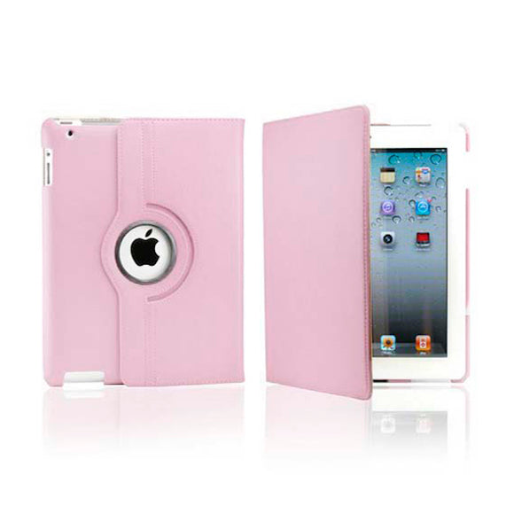 iPad 7 Rotatable Case - Light Pink
