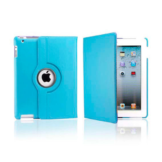 iPad 5 Rotatable Case - Light Blue