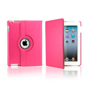 iPad 5 Rotatable Case - Hot Pink