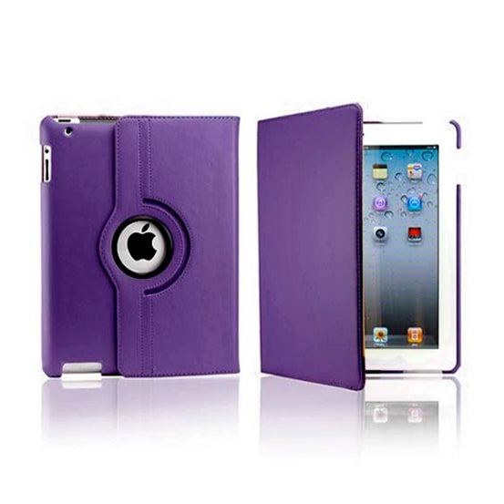 iPad 5 Rotatable Case - Purple
