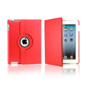 iPad 5 Rotatable Case - Red