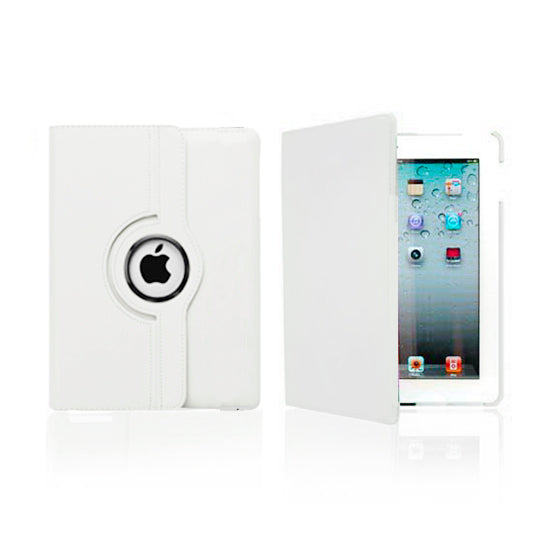 iPad 5 Rotatable Case - White