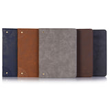 iPad 7 Leather Case - Dark Brown