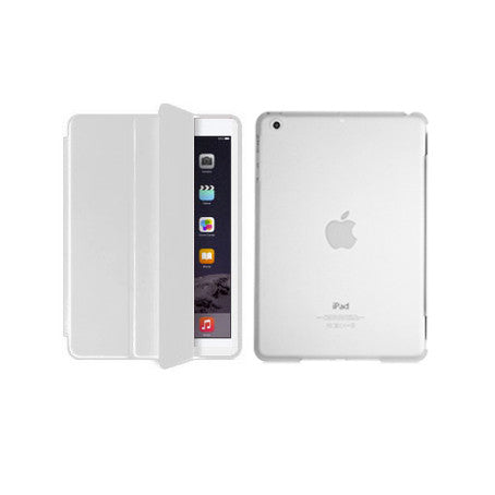 iPad 6 Smart Magnetic Case - White