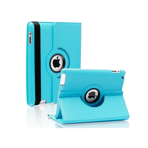 iPad 6 Rotatable Case - Blue