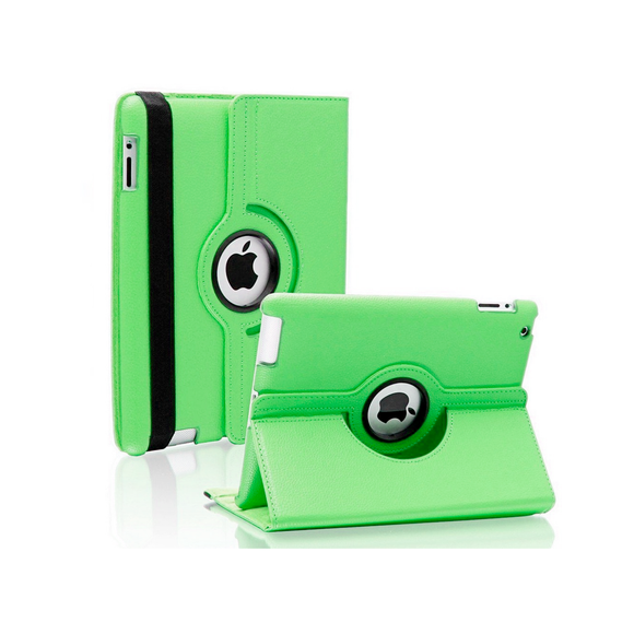 iPad 6 Rotatable Case - Green