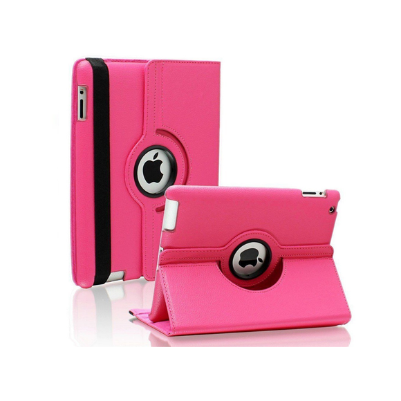 iPad Air 2 Rotatable Case - Hot Pink - Tangled - 1