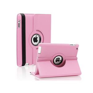 iPad 6 Rotatable Case - Light Pink