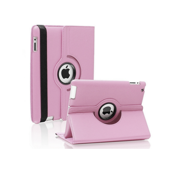 iPad Air 2 Rotatable Case - Light Pink - Tangled