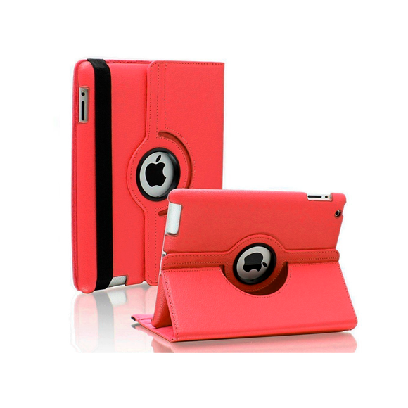 iPad 6 Rotatable Case - Red