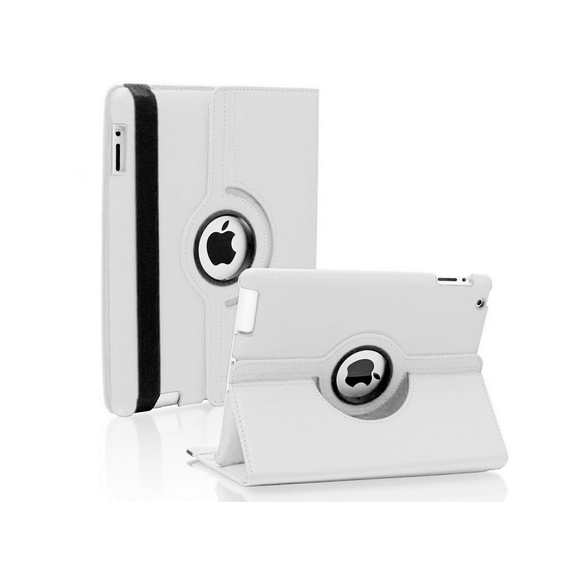 iPad 6 Rotatable Case - White