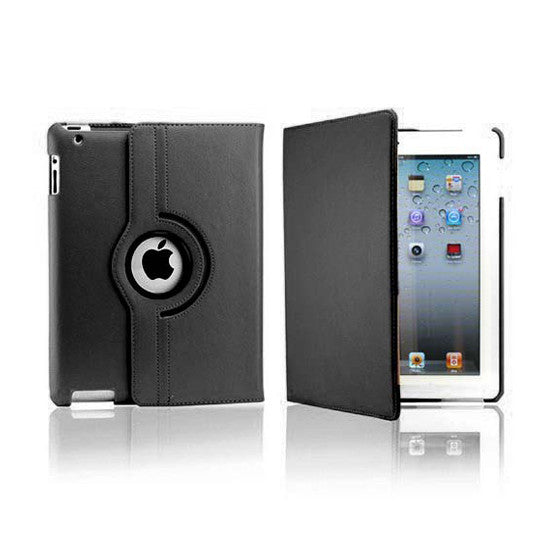 iPad  2/3/4 Rotatable Case - Black