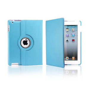 iPad 2/3/4 Rotatable Case - Blue
