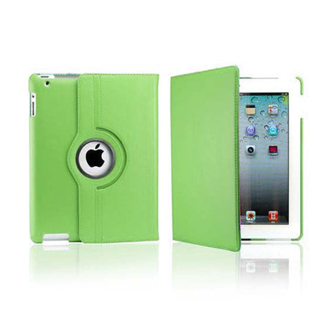 iPad 2/3/4 Rotatable Case - Green