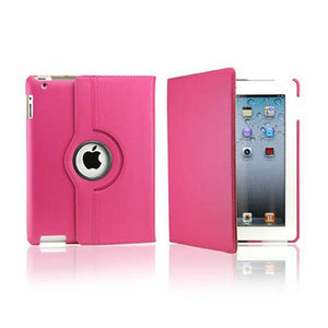 iPad 2/3/4 Rotatable Case - Hot Pink