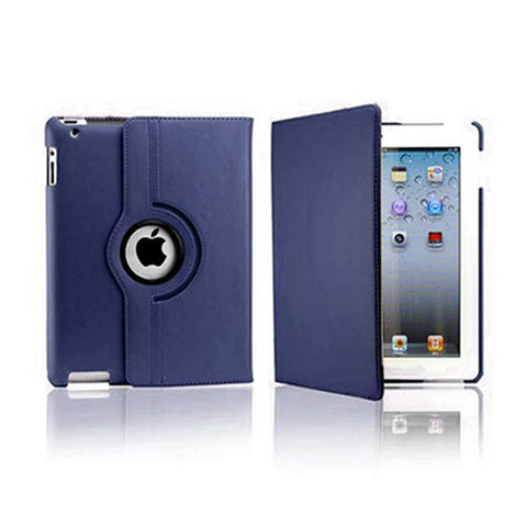 iPad Air Rotatable Case - Navy Blue