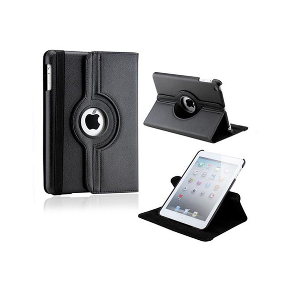 iPad Mini Rotatable Case - Black - Tangled - 1