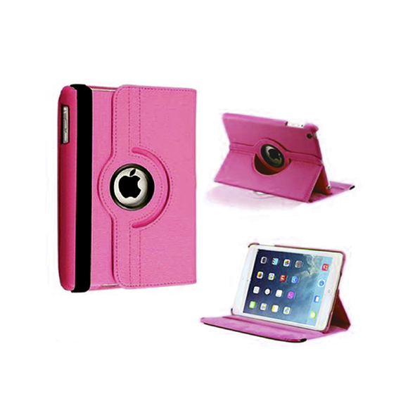iPad Mini Rotatable Case - Hot Pink - Tangled