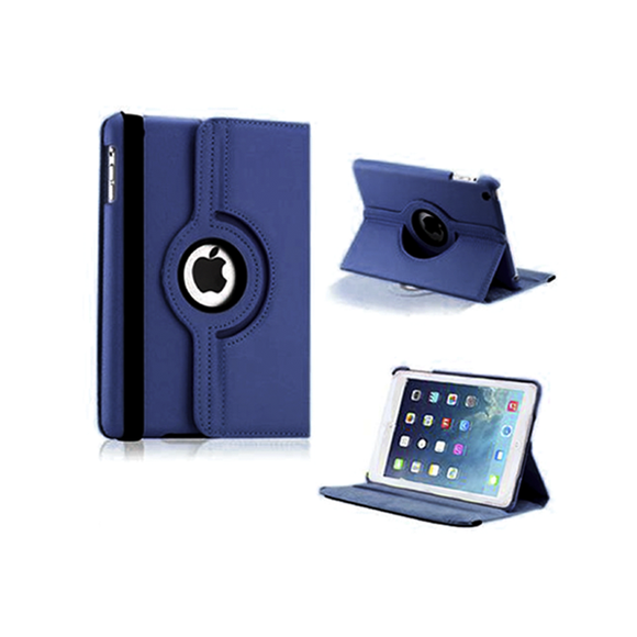 iPad Mini Rotatable Case - Navy Blue - Tangled