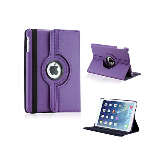 iPad Mini Rotatable Case - Purple - Tangled