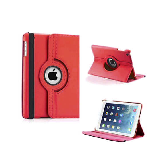 iPad Mini Rotatable Case - Red - Tangled