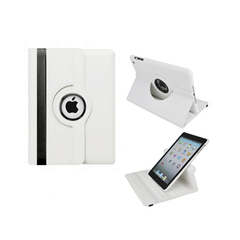 iPad Mini Rotatable Case - White
