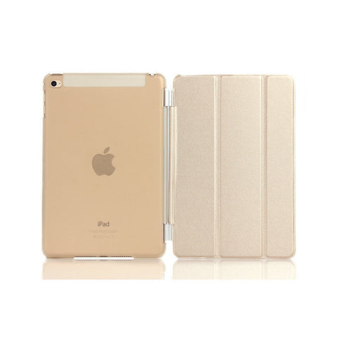 iPad 2/3/4 Smart Magnetic Case - Gold