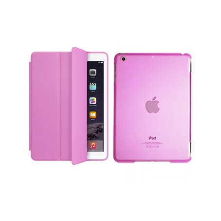 iPad Air 2 Smart Magnetic Case - Pink - Tangled