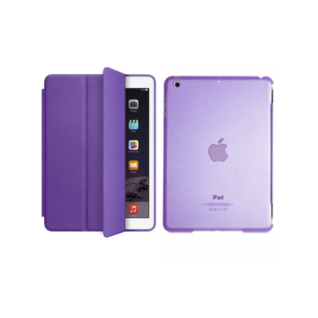 iPad Air 2 Smart Magnetic Case - Purple - Tangled