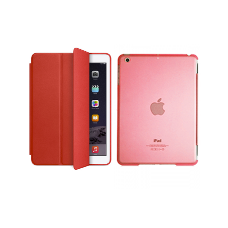 iPad Mini 4 Smart Magnetic Case - Red - Tangled