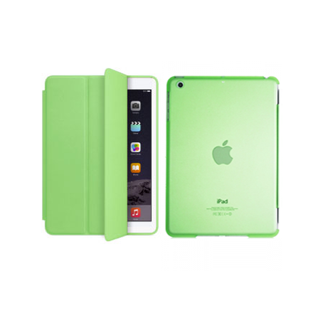 iPad Air 2 Smart Magnetic Case - Green - Tangled