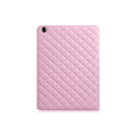 iPad Air 2 Quilted Case - Pink - Tangled - 1
