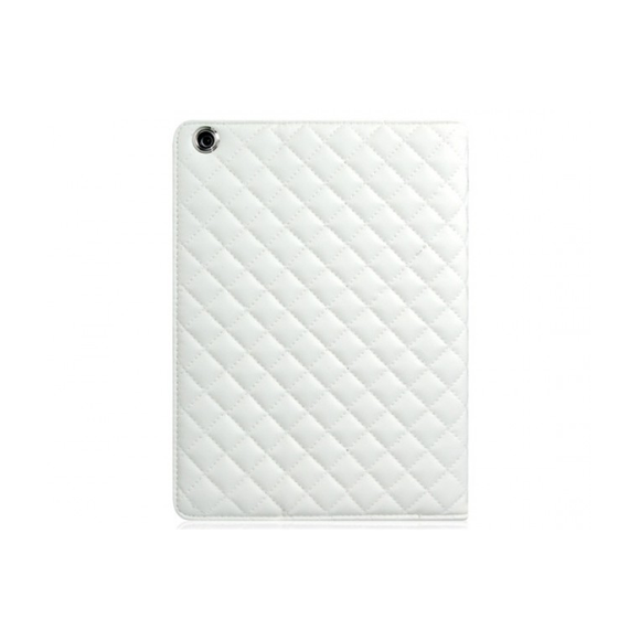 iPad 2 Air Quilted Case - White - Tangled - 1