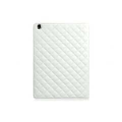 iPad Air 2 Quilt Case - White
