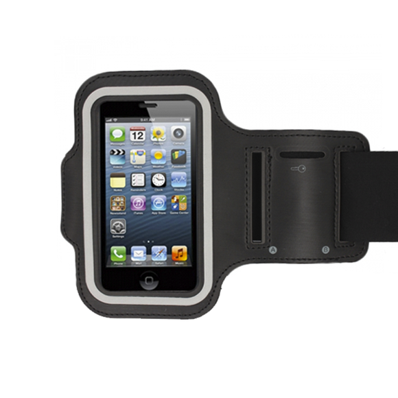 iPhone 5 Armband - Black - Tangled - 1
