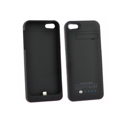 iPhone 5/5S/5C Battery Case 2200mAh - Black