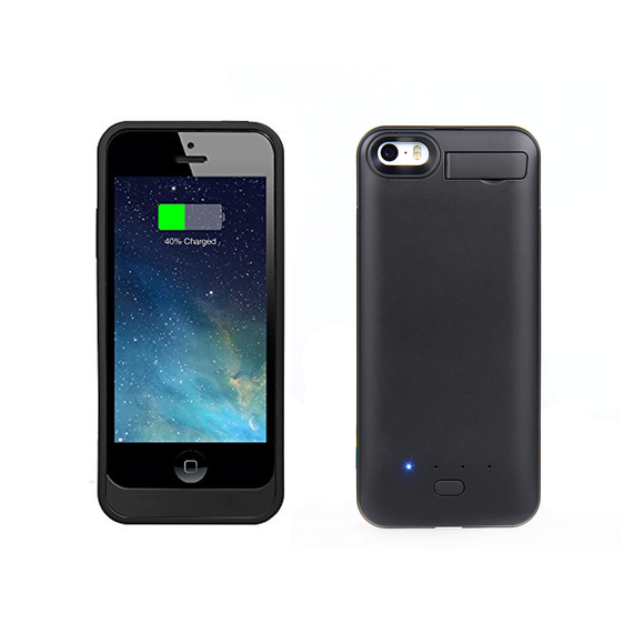 iPhone SE Battery Case 2800mAh - Black - Tangled