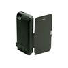 iPhone 5/5S/5C Flip Cover Battery Case 4200mAh - Black