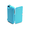 iPhone 5/5S/5C Flip Cover Battery Case 4200mAh - Blue