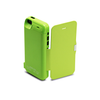 iPhone 5/5S/5C Flip Cover Battery Case 4200mAh - Green