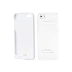 iPhone SE Battery Case 2200mAh - White