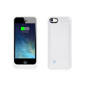 iPhone SE Battery Case 2800mAh - White - Tangled