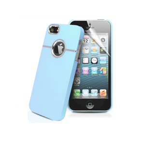 iPhone 5/5S Chrome Case in Light Blue - Tangled