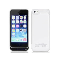 iPhone 5/5S/5C Battery Case 4200mAh - White