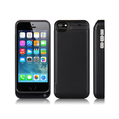iPhone SE Battery Case 4200mAh - Black